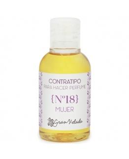 Contratipo de Mulher Nº18 perfume de equivalência