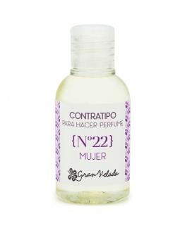 Contratipo de Mulher Nº22 Essência de Perfume