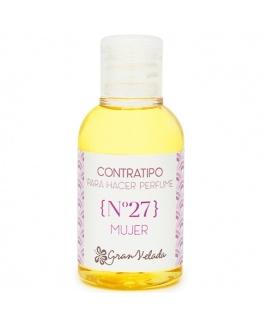 Contratipo de mulher 27 essência de perfume