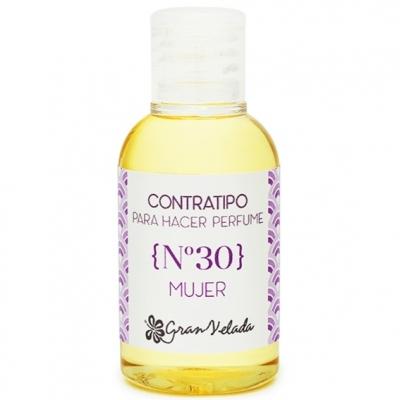 Contratipo 30 mulher essência para perfumaria