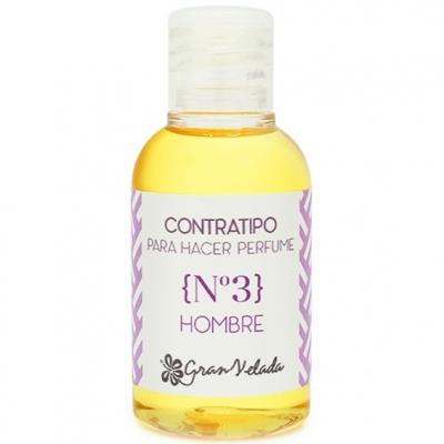 Contratipo homem N3 para fazer perfume