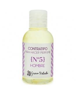 Contratipo de Homem nº5 para fazer perfume
