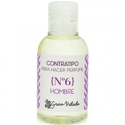 Contratipo de Homem n6 para fazer perfumes