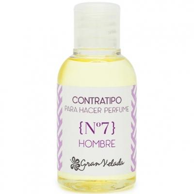 Contratipo de Homem nº 7 para fazer perfumes.