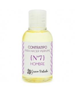 Contratipo de Homem n7 para fazer perfumes