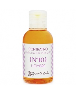 Contratipo para fazer perfumes de Homem n10
