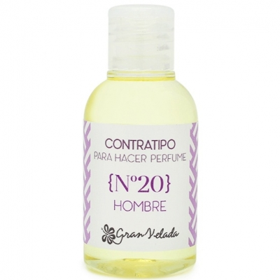 Contratipo de hombre nº 20 para hacer perfumes