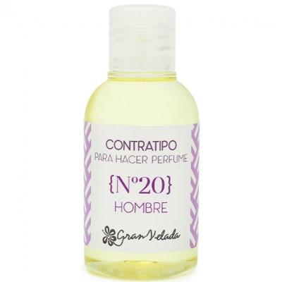 Contratipo de homem nº 20 para fazer perfumes
