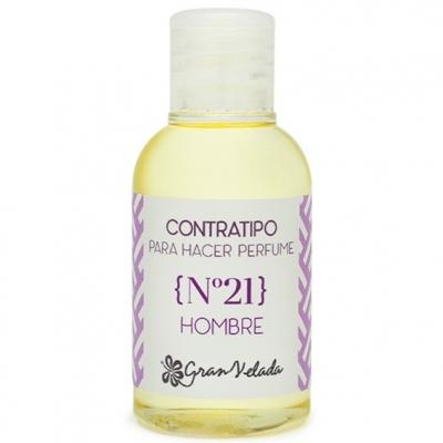 Contratipo de hombre nº 21 para hacer perfumes