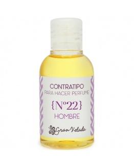 Contratipo de homen nº 22 para fazer perfumes