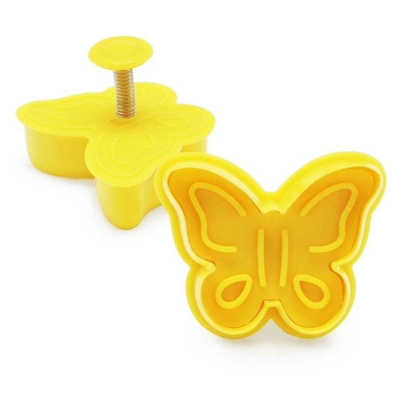 Corta-massa borboleta com explusor