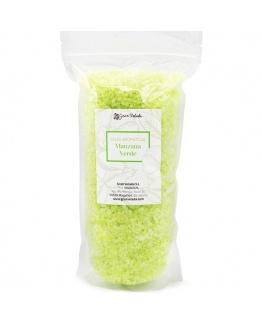 Sais aromaticos de maça verde