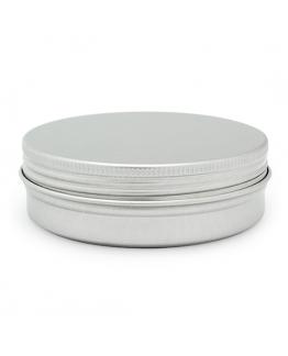 Lata aluminio plano cosmetico 100 ml