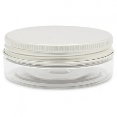 Recipiente transparente 50 ml tampa aluminio