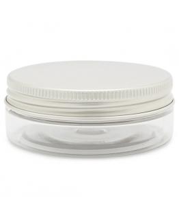 Boiao transparente 50 ml tampa aluminio