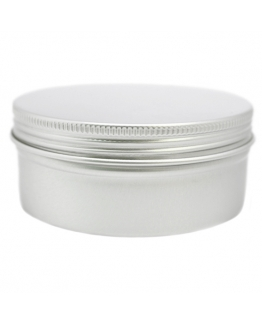 Pote de aluminio para cosmética, 150 ml.