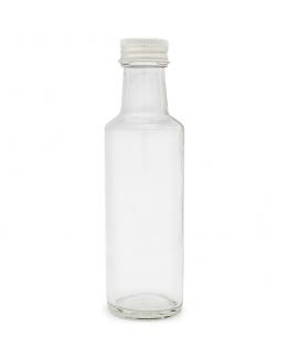 Garrafa Cristal 100 ml. tampa aluminio