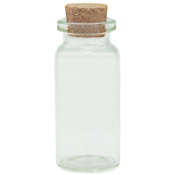 Botellita 10 ml con corcho