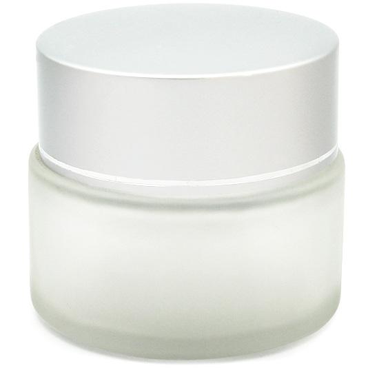 Tarro de cristal 50 ml con tapa de aluminio