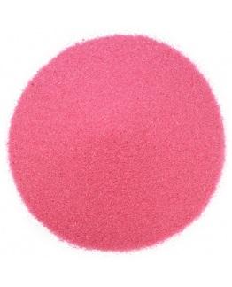 Areia fina cor-de-rosa neon