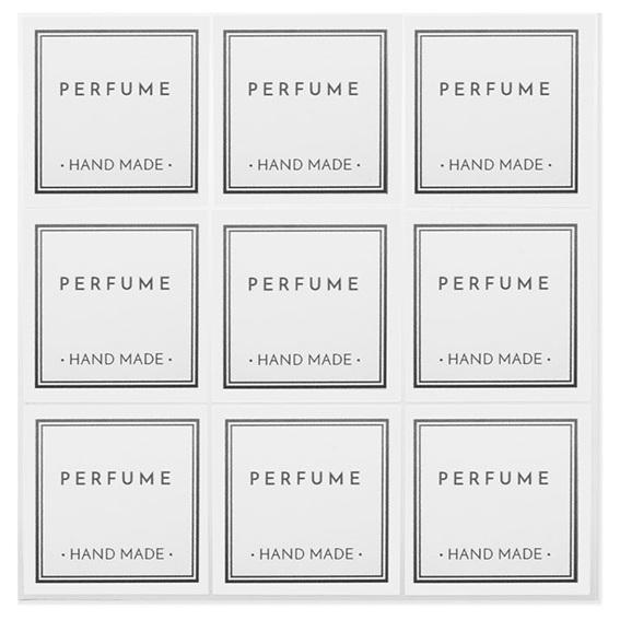 Adesivos para perfume caseiro