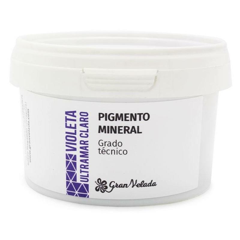 Roxo claro pigmento mineral