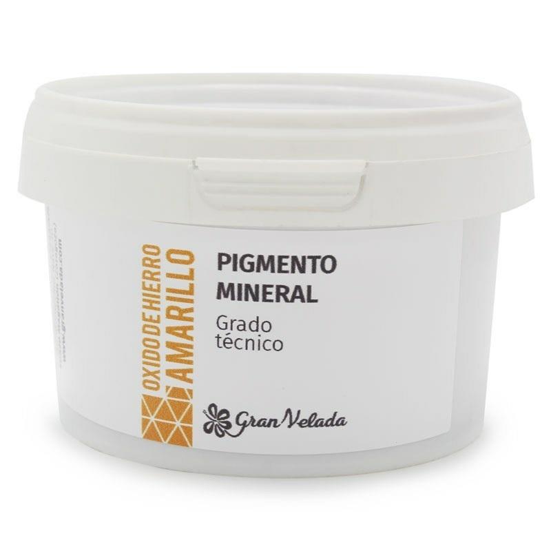 Oxido de ferro amarelo pigmento mineral