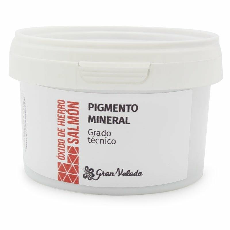 Oxido de ferro cor salmao pigmento mineral