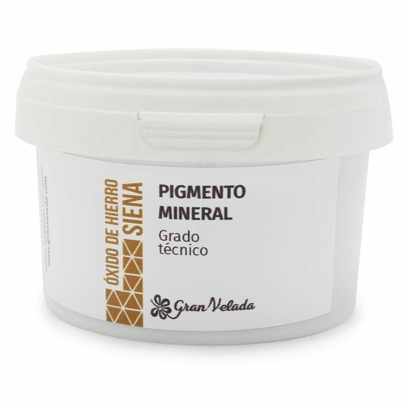 Oxido de ferro cor siena pigmento mineral
