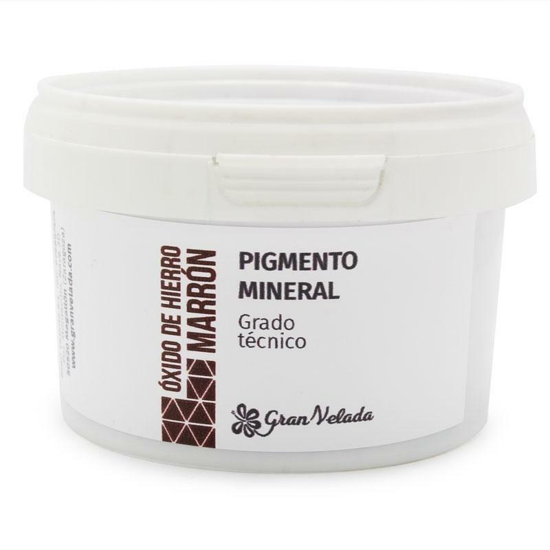 Oxido de ferro castanho-chocolate pigmento mineral