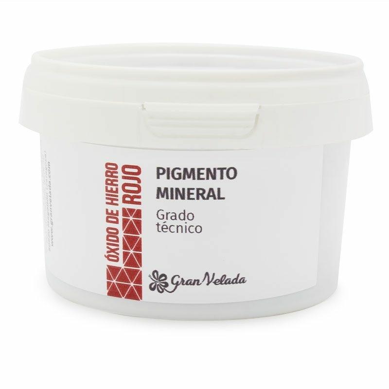 Pigmento mineral oxido de hierro rojo tc