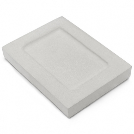 Jaboneras de cemento rectangulares