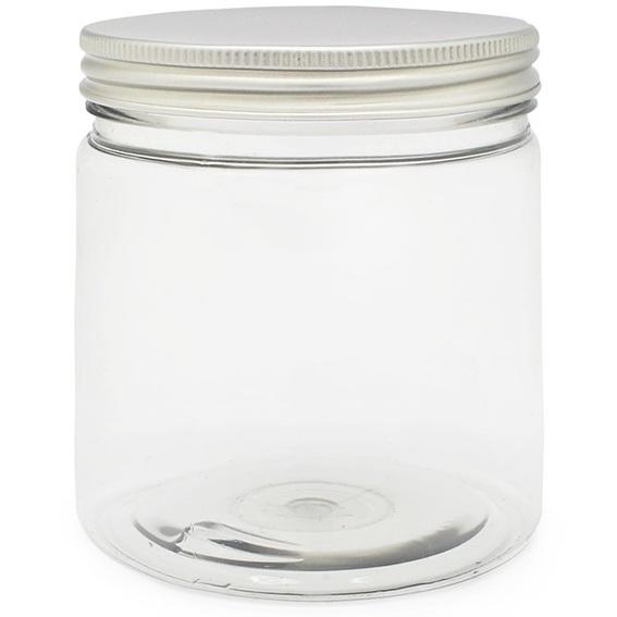 Tarro pet 500 ml tapa de aluminio