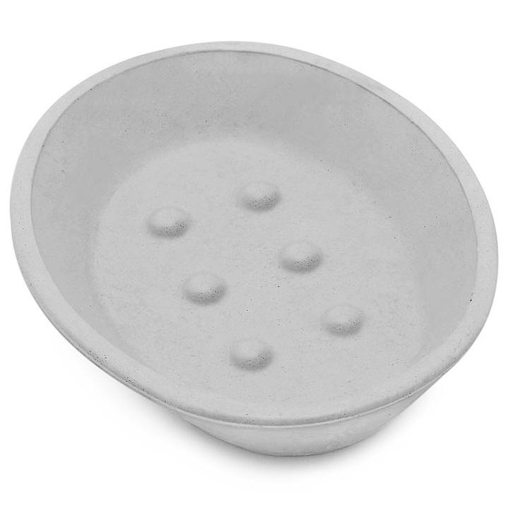 Forma saboneteira oval