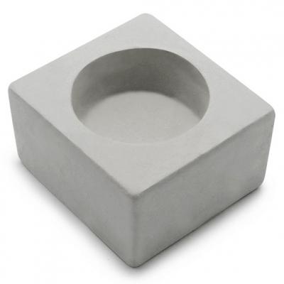 Molde para fazer porta-velas quadrado