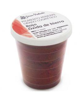 Pigmento mineral rojo