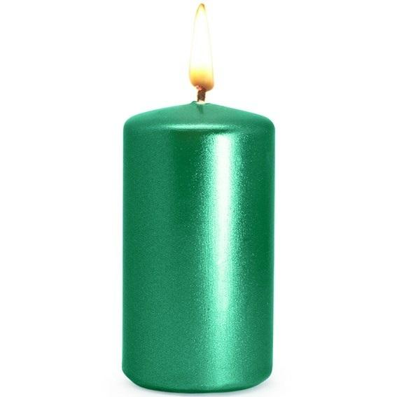Verniz verde metalizado