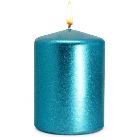 Verniz turquesa metalizado