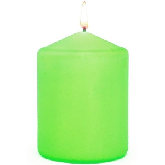 Verniz para velas de cores néon
