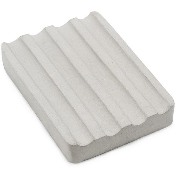 Molde de jabonera rectangular con canaletas