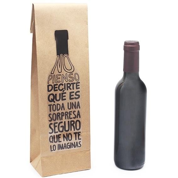 Pegatina para bolsas botelleras