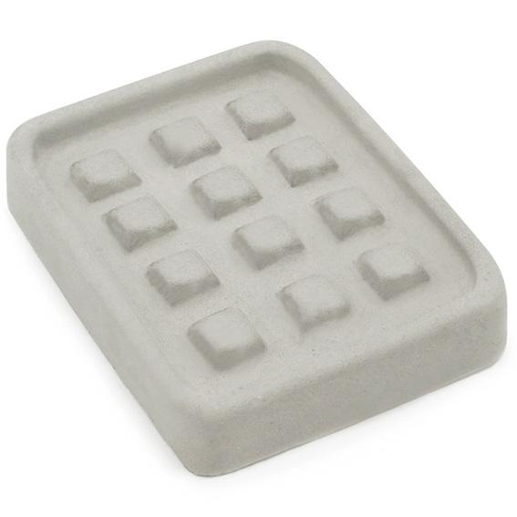 Molde de saboneteira 12 quadradinhos
