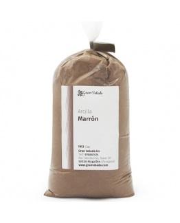 Arcilla marron