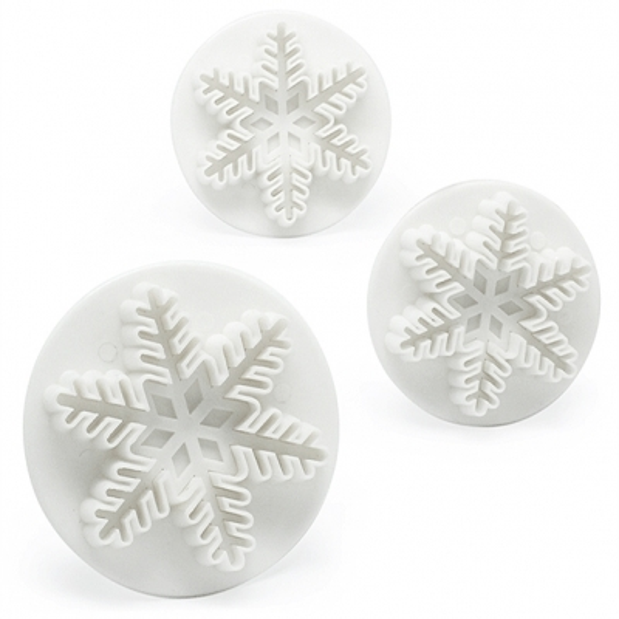 Corta-massas 3 flocos de neve
