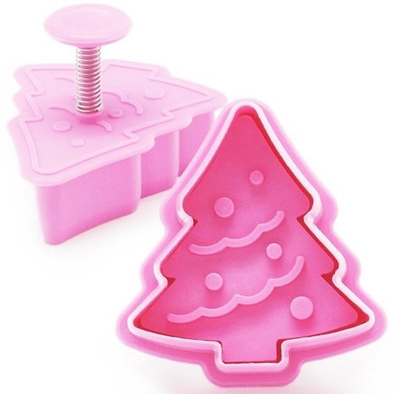 Corta-massas árvore de Natal
