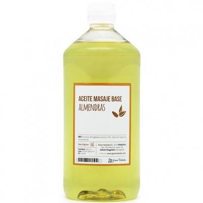 Aceite masaje base almendras