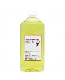 Aceite masaje base pepita de uva