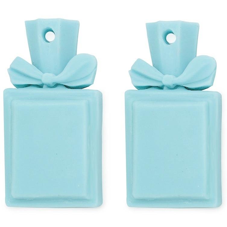 Molde 2 frasquinhos de perfume para pendurar