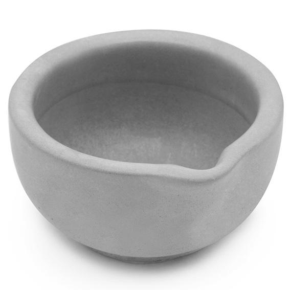 Forma recipiente velas de massagem