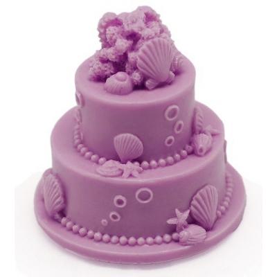 Molde de silicona tarta de novios marina